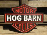 Harley Shield Hog Barn - $180