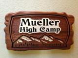 High Camp Sign - $180