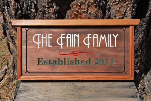 Family Sign - $150