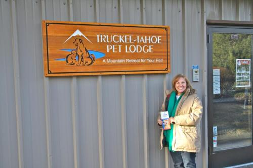 Truckee Pet Lodge installed