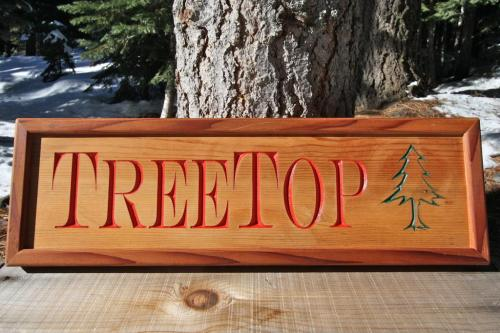 Treetop Sign - $100